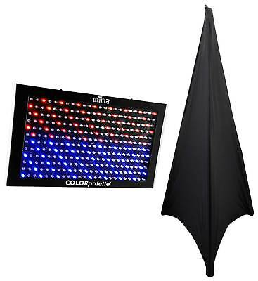 Chauvet DJ ColorPalette LED Panel Stage Wash Light, DMX, Color Palette+Scrim
