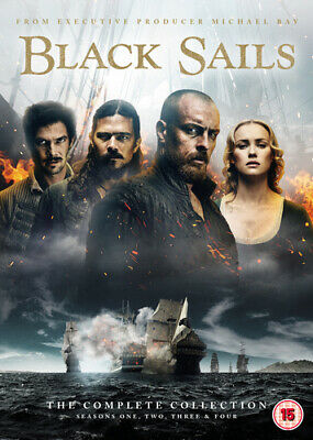 Black Sails: The Complete Collection DVD (2017) Toby Stephens ***NEW***
