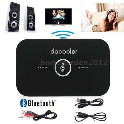 2in1 HIFI Bluetooth A2DP Wireless Musik Audio Empfänger Sender Transmitter 3.5mm