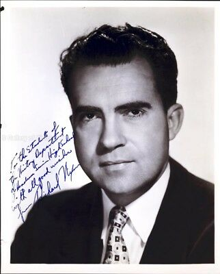 Richard M. Nixon - Inscribed Photograph Signed