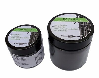 Premium Food Grade Activated Bamboo Charcoal Teeth Whitening Blackhead Removal