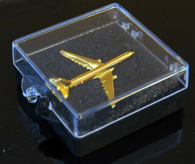 Airbus A330 Pin 3D golden airplane for pilot flight attendant mechanic etc.