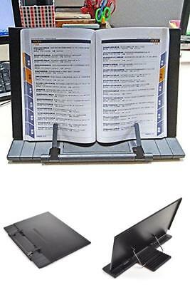 Portable Travel Tabletop Practice Sheet Music Book Stand Folds To Fit Gig Bag