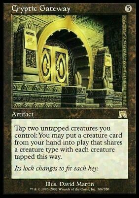 Cryptic Gateway ~ Onslaught ~ Excellent+ ~ Magic The Gathering