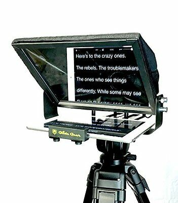 TMP100 Glide Gear Tablet iPad Smartphone Video Camera Teleprompter 70/30 Glass