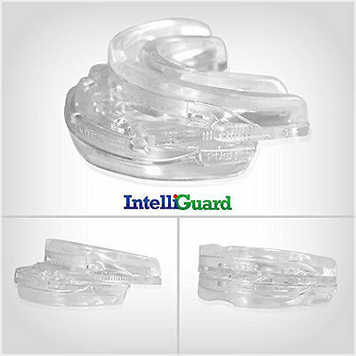 INT Stop Snoring Quiet Adjustable Anti Snore RX Sleep Pure Guard Mouthpiece