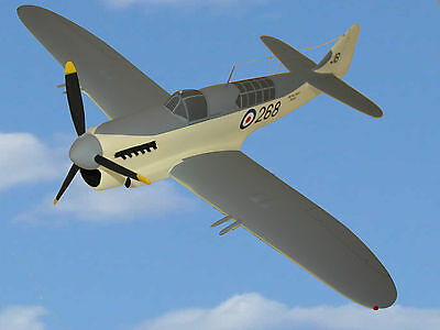 Royal Navy Fairey Firefly Fr 1 Large 1:32 Scale Precision Built Desk Top Model