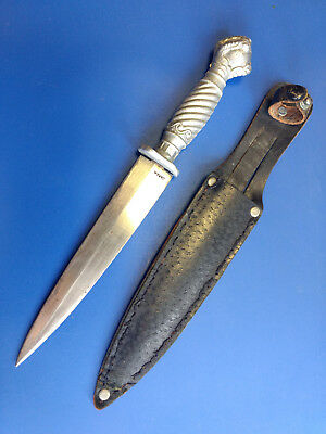 Korium Pic Fixed Blade Knife Dagger Made In Japan With Sheath Eagle Claw