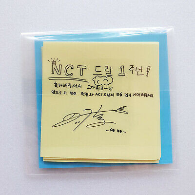 [LIMITED] SM TOWN NCT Dream Debut 1st Year Anniversary Promotional Sticker  Set
