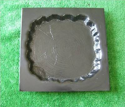 Large Log Stepping Stone Mould Mold Garden Decor Paver NEW