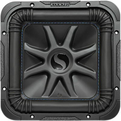 "KICKER L7S102 600W RMS 10"" Solo-Baric Dual 2-Ohm Car Audio Subwoofer Sub Woofer"
