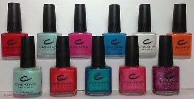 CND Original Nail Polish By Creative Nail Design 0.5oz Full Size YOUR CHOICE