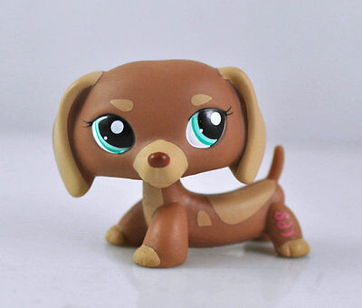 Littlest Pet DOG Dachshund Animal child girl boy figure loose cute LPS861