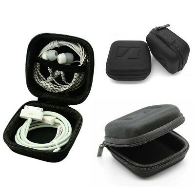 NEW Portable Case Pouch Storage Bag For SD TF Card Earphone Headphone Earbuds UK