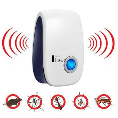 Ultrasonic Bug Mice Rat Spider Ant Insect Pest Repeller Repellent Electric  ILOE