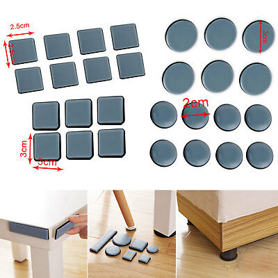 ​Magic Moving Slider Pad Furniture Table Bases Protector Coaster Carpet Flooring