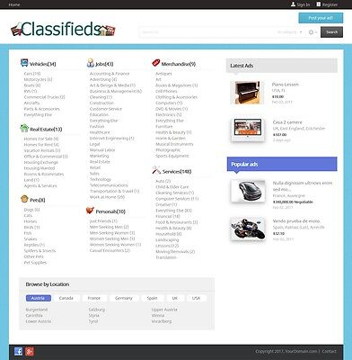 LOCAL CLASSIFIED ADS Website - Free Install + Hosting - $9 00 | PicClick