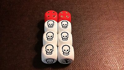 HeroQuest Dice Set (Authentic style reproduction)
