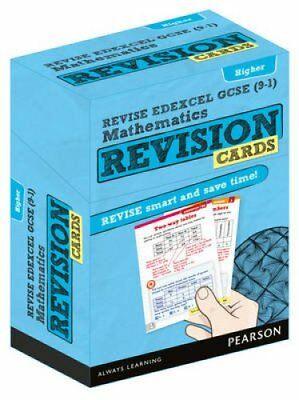 REVISE Edexcel GCSE (9-1) Mathematics Higher Revision Cards inc... 9781292173221