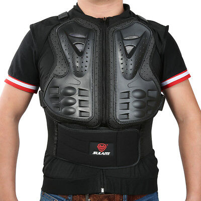Lightweight  Chest Protective Gear Motorcycle Bicycle Skate Body Armor Jacket YH
