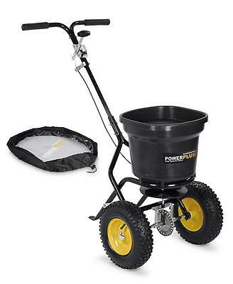 Salt Shaker Spreader, Seed Spreading Trolley, Fertilizer Spreader 23kg for Grit
