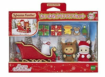 Sylvanian Families Little Christmas Set New W / Tracking From Japan F / S