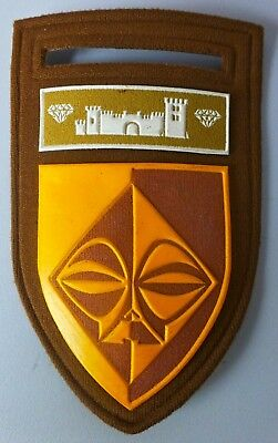 SOUTH WEST AFRICA SECTOR 20  SOUTH AFRICAN ARMY scarce OLD GERMAN FORT ARM PATCH