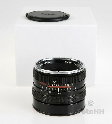 Rollei Planar 1:2.8/80Mm** Qs Referenz ** / Prototyp Lens With Certificate /