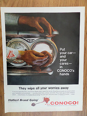 1960 Conoco Oil Gas Continental Company Ad