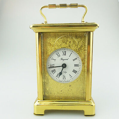 Bayard Vintage French Carriage Clocks : Scarce mechanical Carriage Clock C.20thC