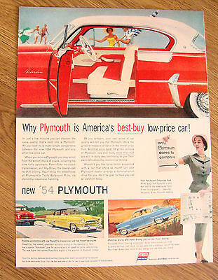 1954 Plymouth Belvedere Coupe Ad