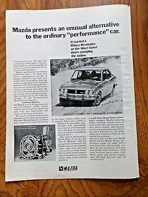1973 Mazda Rotary RX-2 Coupe Ad