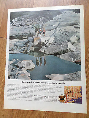 1962 Ethyl Gasoline Ad       Mohawk Trail Kentucky