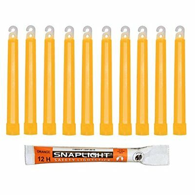 Cyalume SA8-1008084AM - Barras de luz naranja SnapLight Glow Sticks 15 cm, 6 In