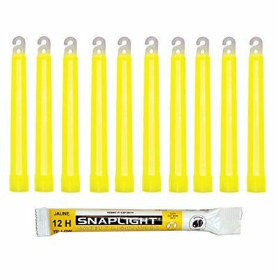 Cyalume SA8-1008082AM - Barras de luz amarillo SnapLight Glow Sticks 15 cm, 6 I