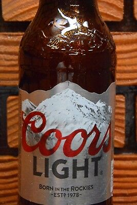 COORS LIGHT  BEER TAP HANDLE - A UNIQUE COOL GIFT for KEGERATOR, MANCAVE DISPLAY