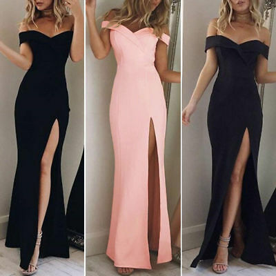 Women's Formal Long Ball Gown Party Prom Cocktail Bridesmaid Evening Maxi Dress