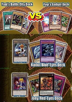 Yugi's 4 Legendary Decks (YGLD Battle City + Gadget) + (LDK2 Joey + Kaiba SEALED