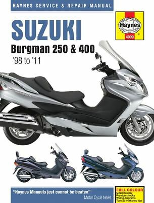Manual Haynes for 2007 Suzuki AN 250 K7 Skywave (Type M)