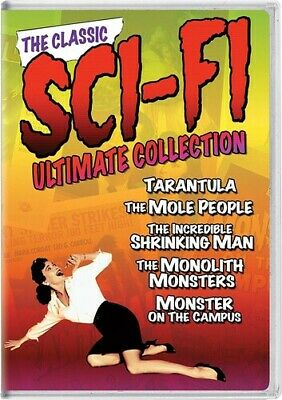 The Classic Sci-Fi Ultimate Collection: Volume 1 [New DVD] 3 Pack, Slipsleeve