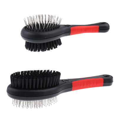 Double Sided Pet Hair Brush Dog Cat Rabbit Hair Comb Slicker Brush Grooming Rake