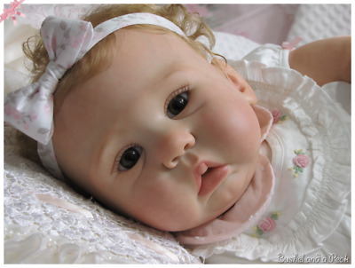"REBORN DOLL KIT ""AMY"" by Sandy Faber 22"" (Unpainted) ."
