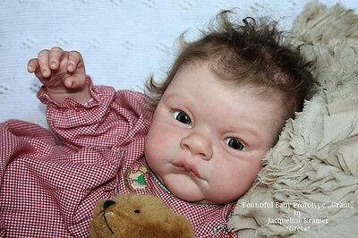 "REBORN DOLL KIT ""GRANT"" by Michelle Fagan 23"" (UNPAINTED)"