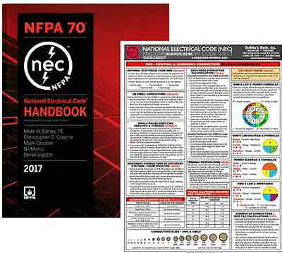 NFPA 70: National Electrical Code (NEC) Handbook & Quick Card, Set, 2017 Edition