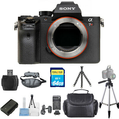 Sony Alpha a7R II Mirrorless Digital Camera (Body Only) STARTER BUNDLE!! NEW!!