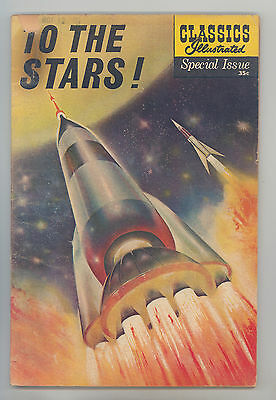 Classics Illustrated Special #165A (Orig) VG Kirby Crandall, Evans, To the Stars