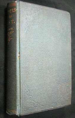 Rare 1873 Travel & Exploration Book Wonders of the East Europe Egypt Holy Land