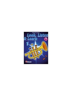 Look, Listen & Learn 1 - Trumpet (Book and CD). Cornet Sheet Music, CD