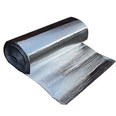 "47"" x 100' DOUBLE FOIL ALUMINUM MYLAR BUBBLE 