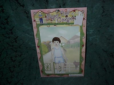 Enchantmints Paper Doll Cowpokes-New In Package